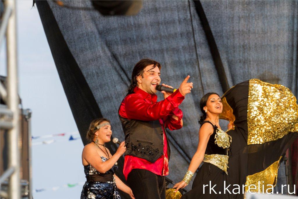 Участники концерта в часть Дня города. Петрозаводск