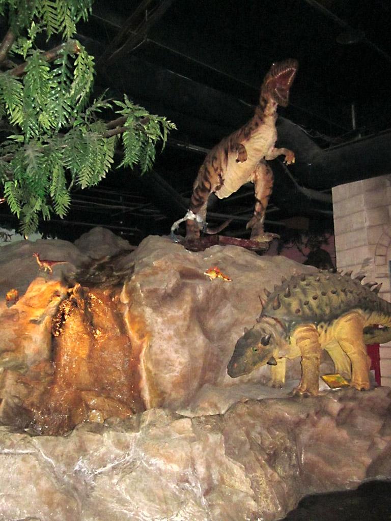 """Выставка """"Мир динозавров"""". Санкт-Петербург"""