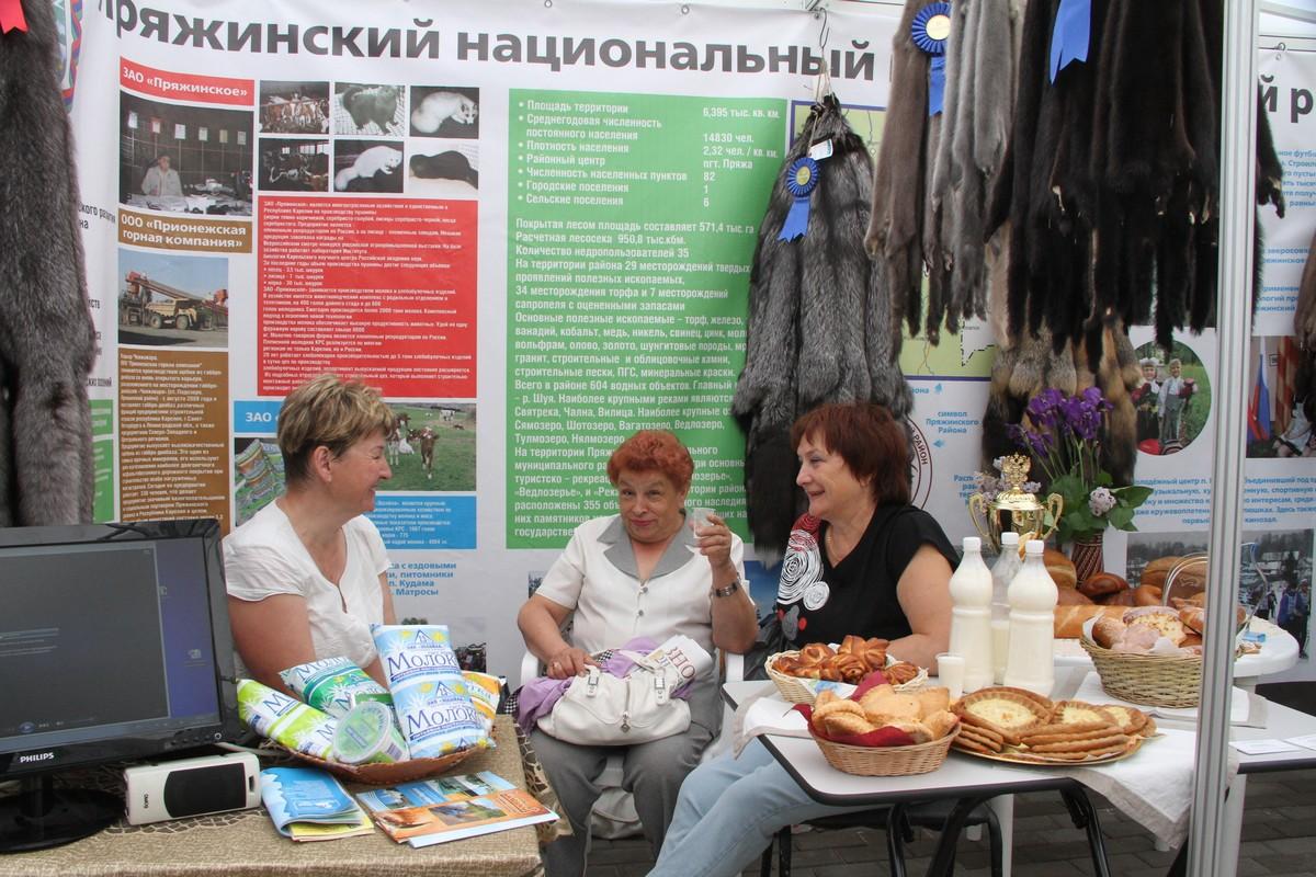 Презентации районов Карелии в День Республики. Пряжа