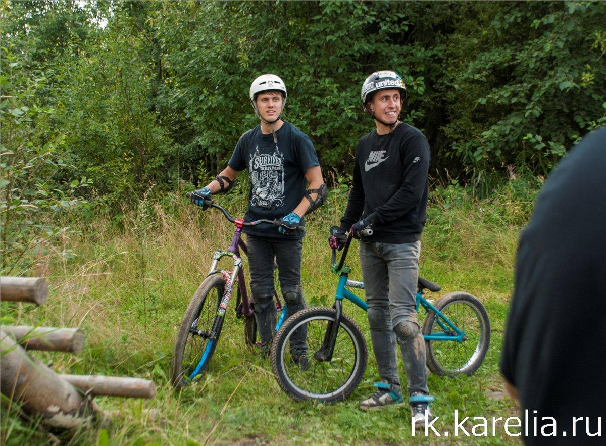 Соревнования по велоэкстриму в Петрозаводске