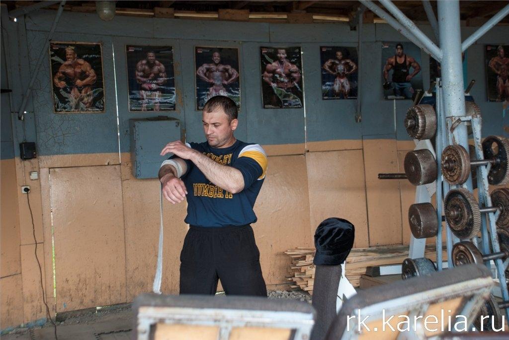 Здесь тренируются «зэка» большого спорта. Карелия