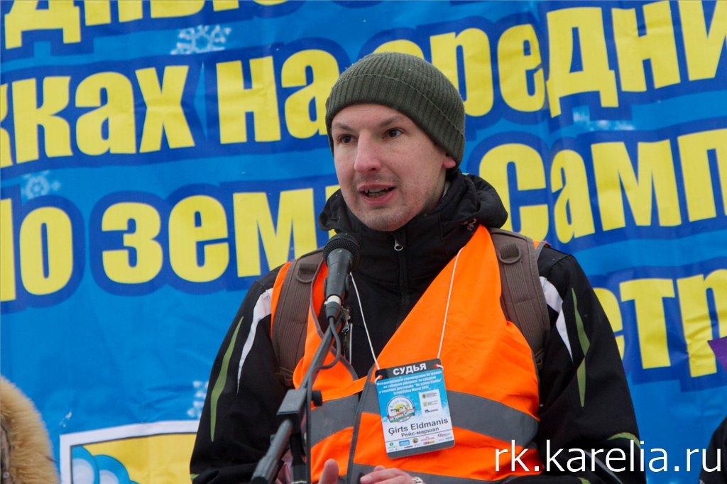 Главный судья Алдманис Гиртс