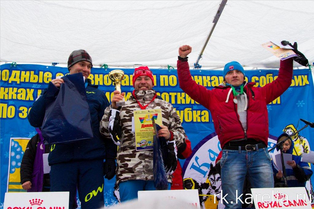 Награждение победителей гонки