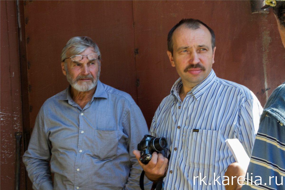 Павел Мартюков и главный инженер Александр Тихомиров. Фото: Виталий Голубев