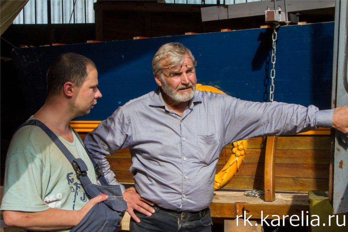 Судосборщики за работой. Фото: Виталий Голубев