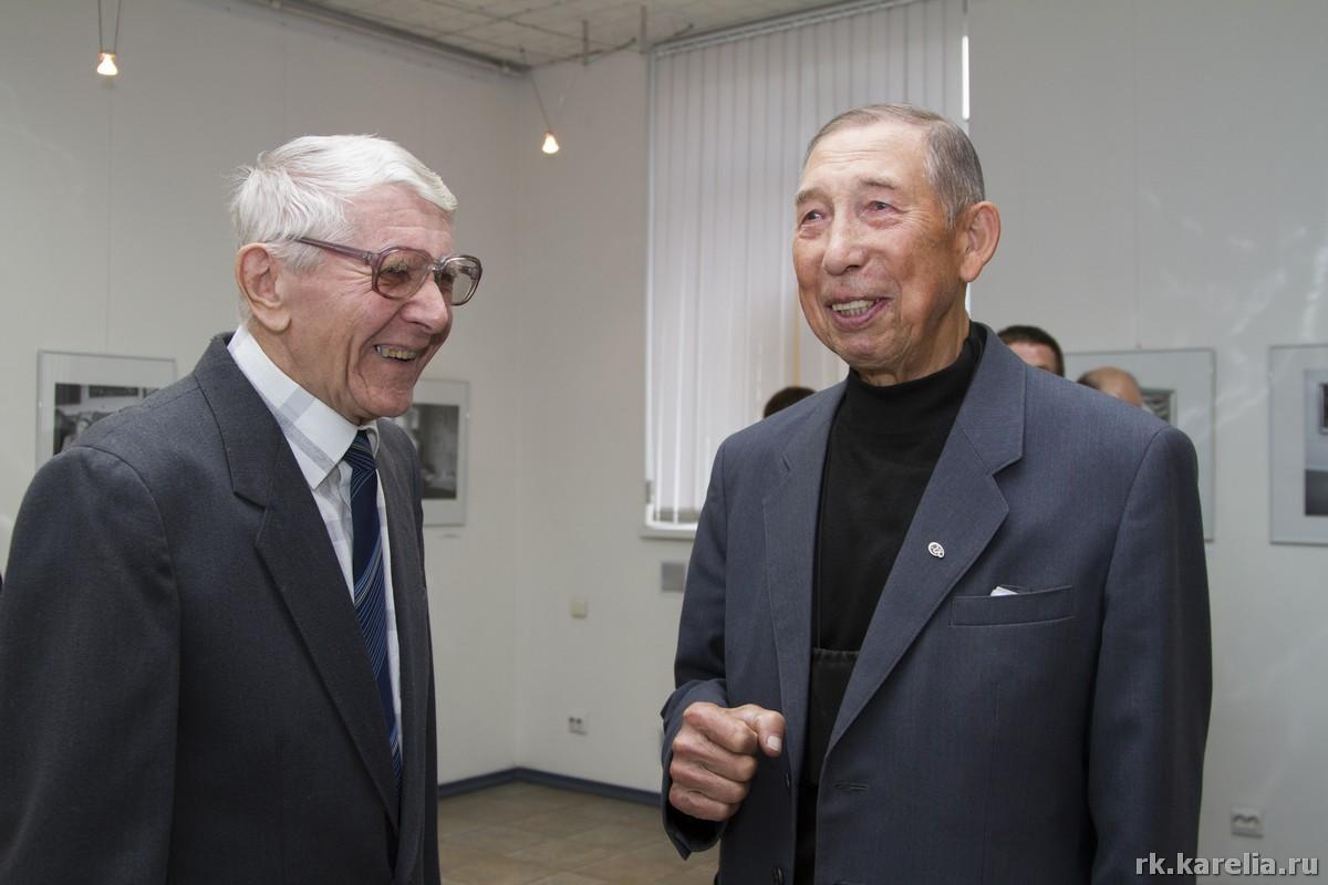 Михаил Федоров и Борис Поморцев