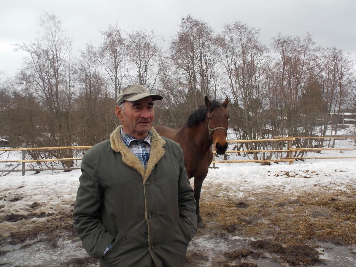 Сергей Кольцов, село Деревянное