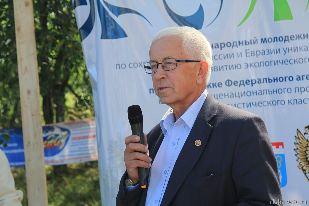 Экс-глава Республики Виктор Степанов, уроженец Видлицы, патриот Ладоги