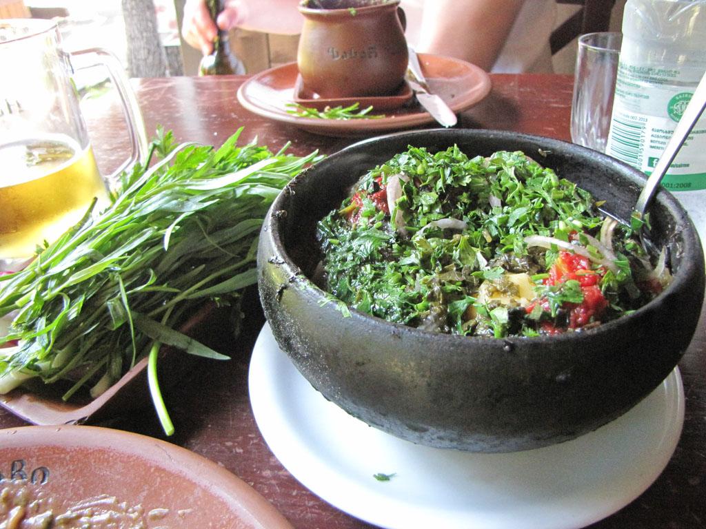 «Зеленая тарелка» – обязательный атрибут