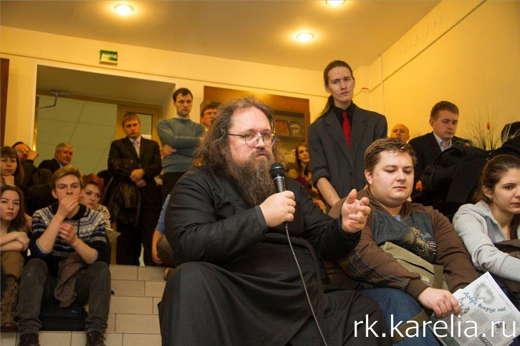 Андрей Кураев в Петрозаводске