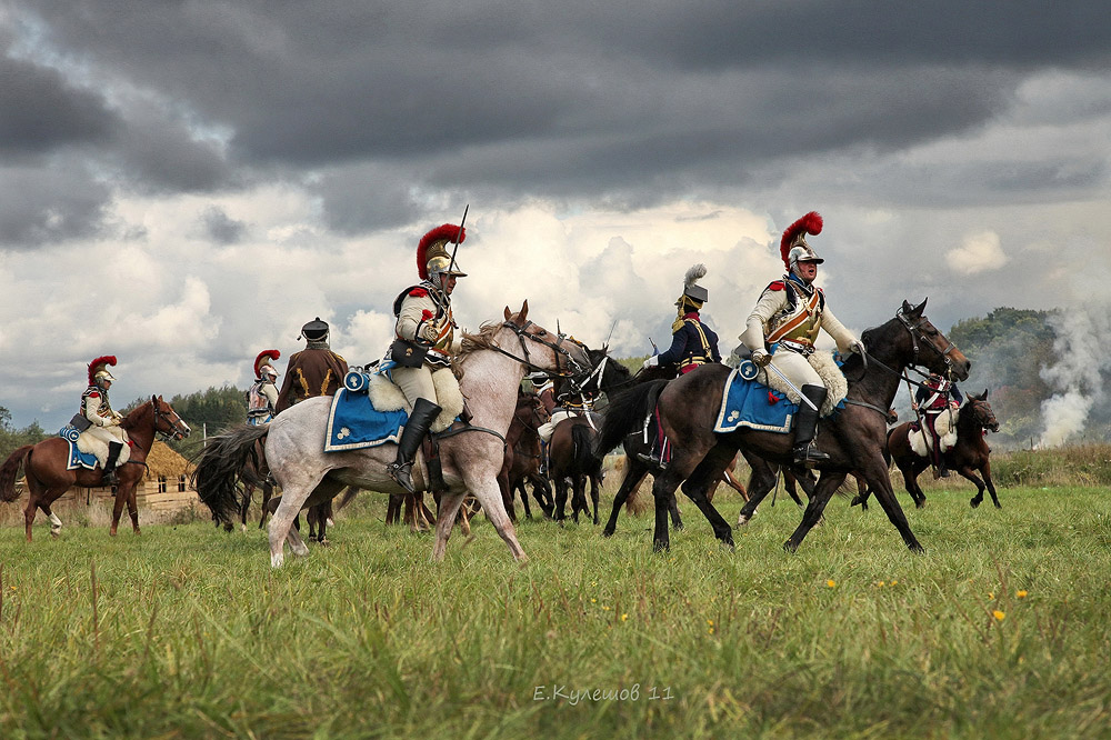 Бой кавалерии - украшение фестиваля