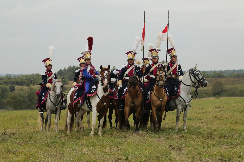 День Бородина-2013. Польские уланы Бонапарта