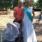 победительница Тая Ридель с  мужем Валерием и семимесячной дочкой Лилией