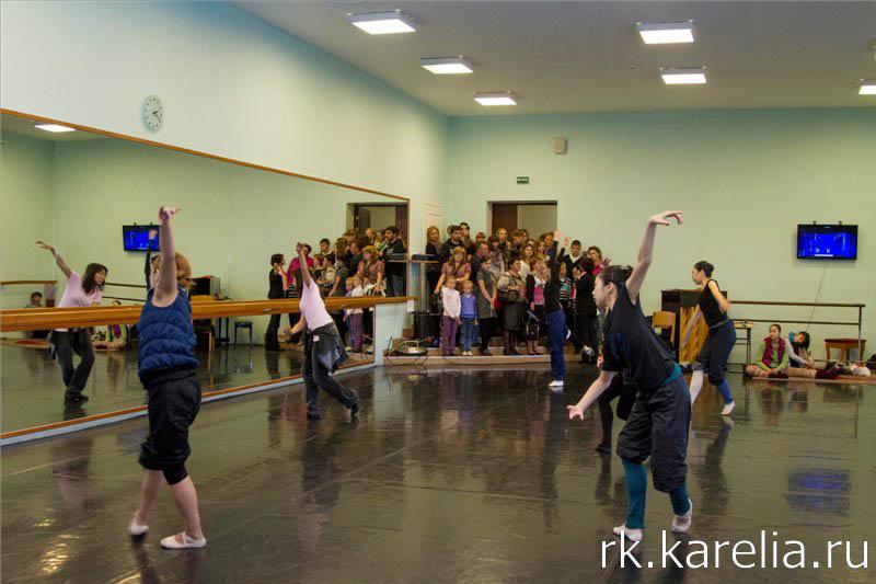 День открытых дверей в Музыкальном театре Карелии. Петрозаводск