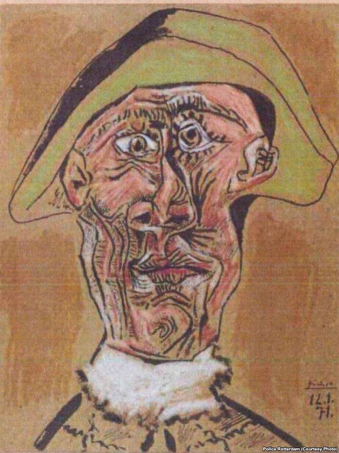 Пабло Пикассо. «Голова Арлекина»