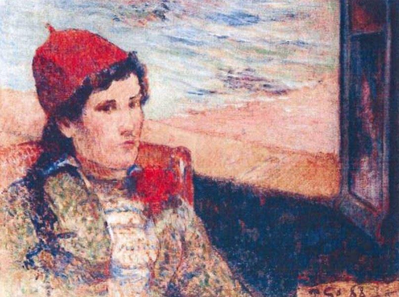 Поль Гоген. «Девушка перед открытым окном»