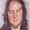 Люсьен Фрейд. «Женщина с закрытыми глазами»