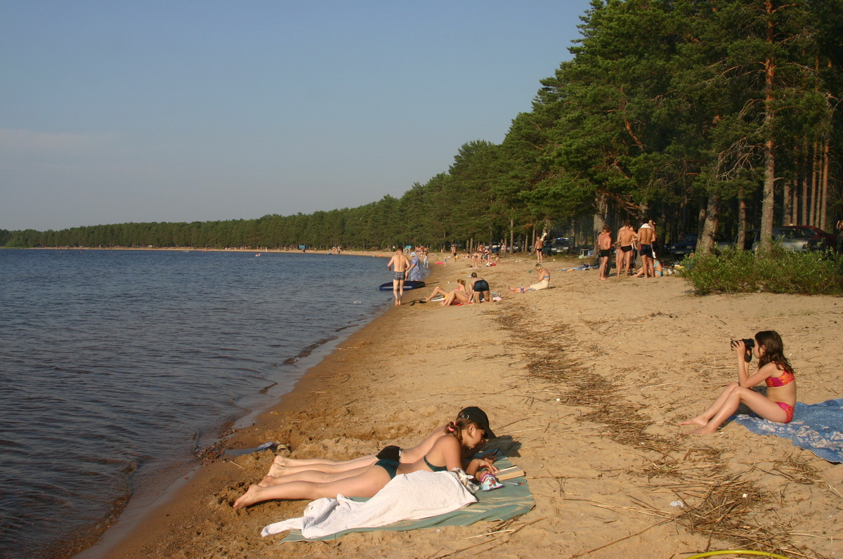 Сямозерские пляжи — карельская Юрмала