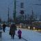 Улица Кирова  в Петрозаводске в 17.00.