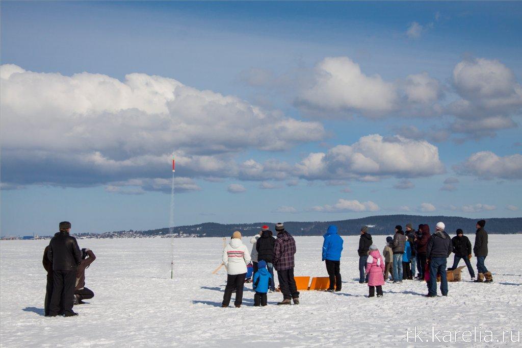 Соревнования по ракетному моделированию в Петрозаводске