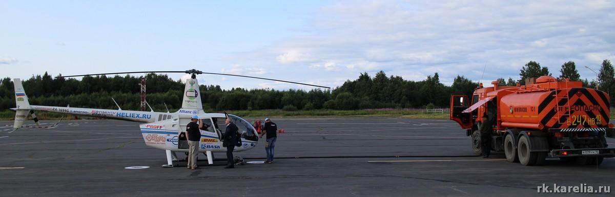 """Экспедиция """"Россия 360"""" в аэропорту Петрозаводска"""