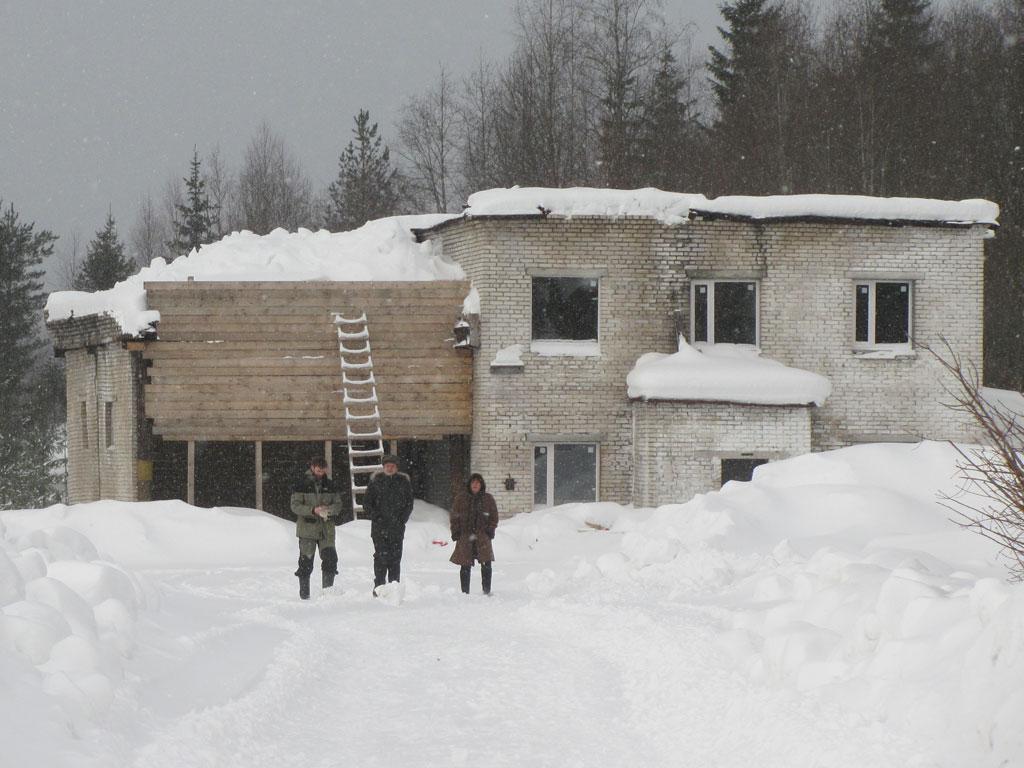 Будущая ремесленная площадка в Рускеала
