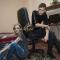 Александра и Алексей с Хантером и Нагайной