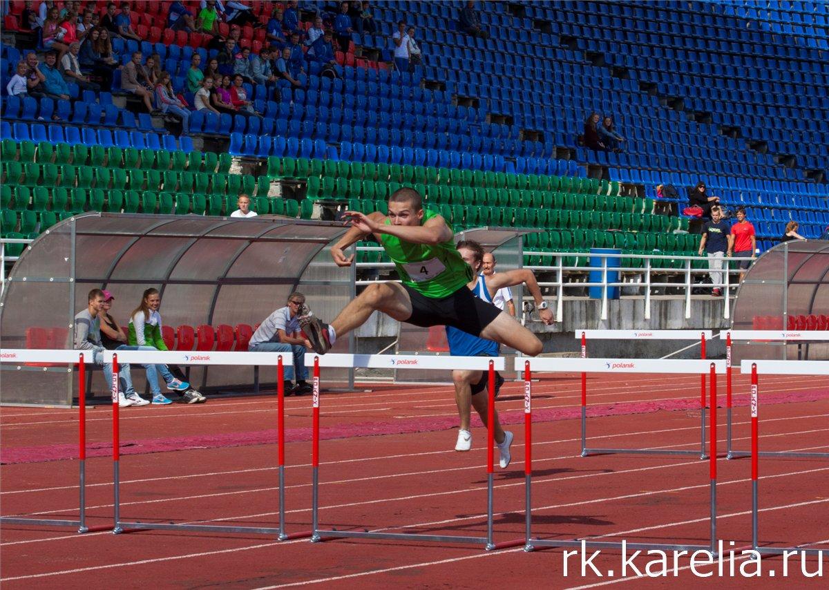 Международная матчевая встреча по легкой атлетике среди команд Карелии, Финляндии и Санкт-Петербурга