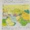 Карта с маршрутом Харухиши Ватанабе