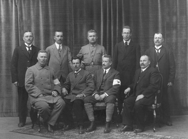 Карельское посольство в Хельсинки 16.05.1918