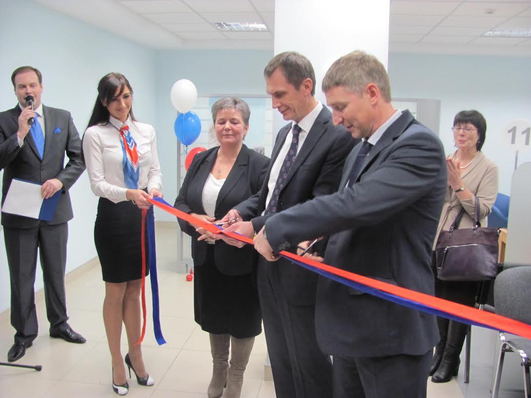 Новый офис банка «ВТБ 24» в Петрозаводске. Фото: old.old.rk.karelia.ru