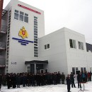 В День спасателя в Петрозаводске открыли депо с классическим пожарным шестом