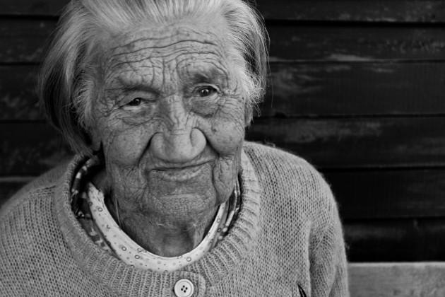 Мартынова Марина Панфиловна, 86 лет. Деревня Кизрека, Лоухский район