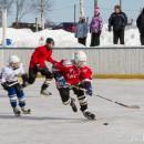 Шуя играет в хоккей