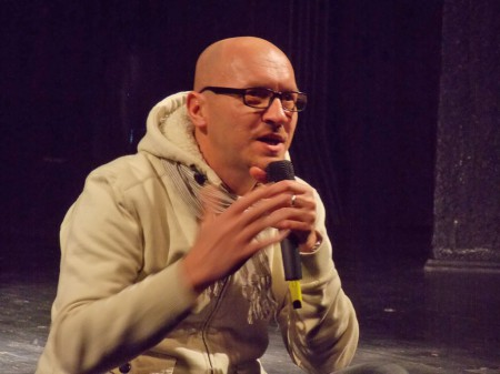 Олег Николаенко исполняет тост про чудо