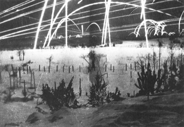 Ночь на советско-финской границе в 1939 год, первый месяц Зимней войны (Книга Suomi Sodassa, Valitut Palat Oy 1973)