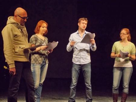 Прослушивание в народный театр имени Николаенко