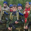 Юные спецназовцы России вновь проходят курс молодого бойца в Карелии