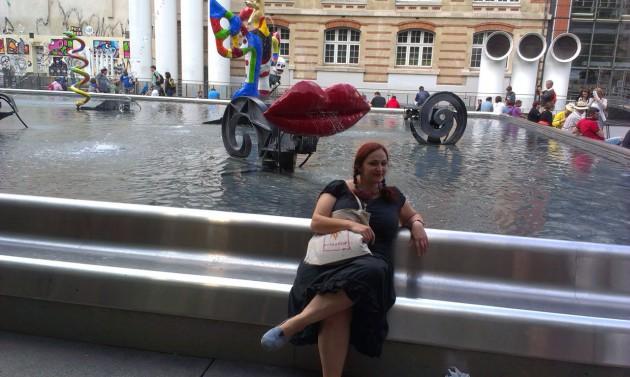 Площадь у Центра Помпиду – одно из моих любимых мест