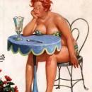 Рисунок  Дуэйна Брайерса из серии про толстушку Хильду