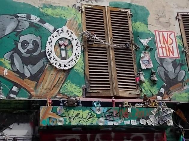 А художники, бунтари и эмигранты высаживают свои безумные цветы прямо на стенах