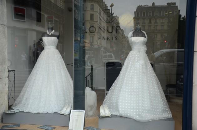 Один из свадебных магазинов