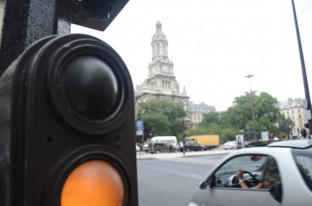 Один из светофоров, с которым наши пути пересеклись