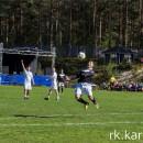 Футбольный матч в Пряже