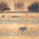 Панорама Выговского и Лексинского общежития. Худ. В.Тарасов. 1838 год