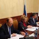 Вероника Скворцова ведет заседание рабочей группы