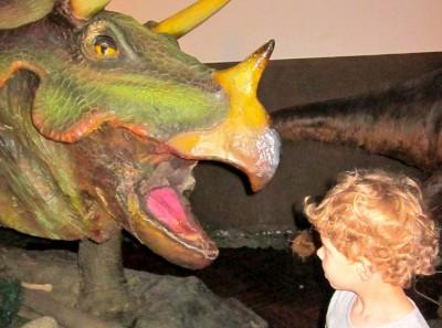 Гости динозавров
