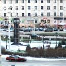 Биг-Бен на площади Гагарина. Фото: Наталья Митрофанова