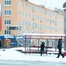 Красная остановка на Студенческом бульваре. Фото: Виталий Голубев