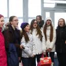 Карельские участники Сводного детского хора России вернулись в Петрозаводск. Фото: Виталий Голубев